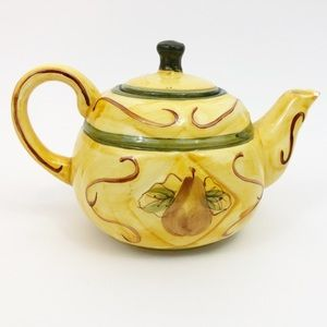Other - Vintage Royal Norfolk Yellow Teapot Handpainted